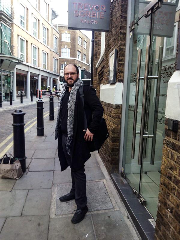 Experiencias en Londres con Trevor Sorbie y Universidad de la Imagen